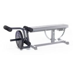 Moduł do prostowania i zginania nóg do ławki treningowej Ironmaster Super Bench Kup teraz w sklepie internetowym