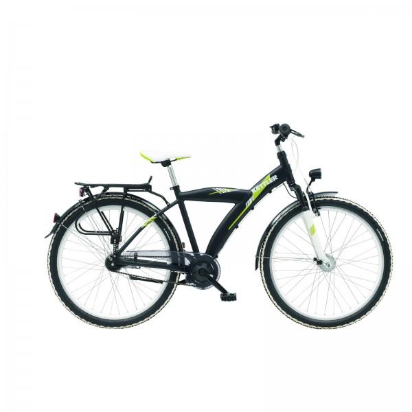 kettler kinder fahrrad grinder 26 zoll schwarz matt. Black Bedroom Furniture Sets. Home Design Ideas