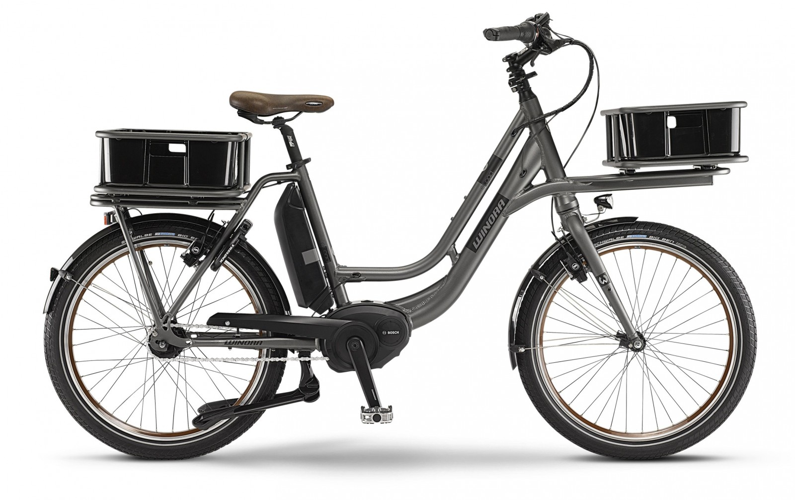 winora e bike eload wave 24 zoll rh46 kopen test t. Black Bedroom Furniture Sets. Home Design Ideas