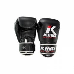 Booster King PRO BOXING - Boxhandschoenen Zwart-Wit