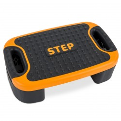 cardiostrong 3 in 1 Aerobic Step schwarz/orange