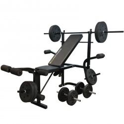 Duke Fitness Dumbbell Bench Set
