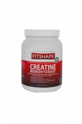 Fitshape Creatine Monohydraat 500 gram Voedingssupplement
