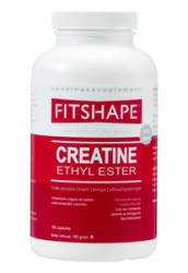 Fitshape Creatine Ethyl Ester 180-160 capsules   Krachtsport