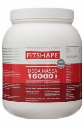 Fitshape Super Turbo Mega Massa 16000 i 2500 gr