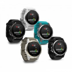 Montre connectée Garmin Multisport GPS Fenix 5S