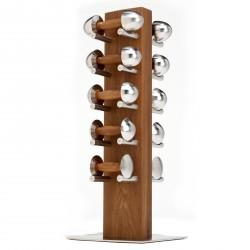 Hock Dumbbell Set Complete With Rack 1-5kg