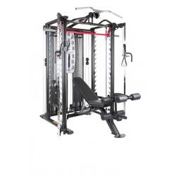 Finnlo Maximum Inspire SCS Smith Cage System - Incl halterbank en meer