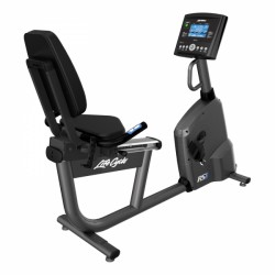 Vélo d'appartement allongé RS1 Go de Life Fitness