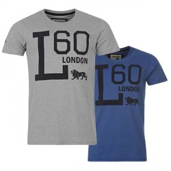 """Lonsdale T-Shirt """"L"""" Graphic Tee"""