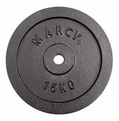 Marcy Plate Black 15.0kg, Single