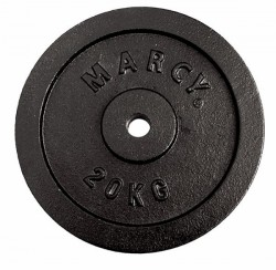 Marcy Plate Black 20.0kg, Single