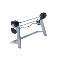 MX80 halter met instelbaar gewicht, curlstang en houder
