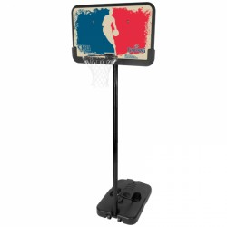 Spalding NBA Logoman Portable Basketball Set