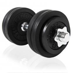 Håndvægtsæt  ca. 15 kg