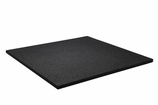 Bos Rubber Vloermat - Gym tegel 500 x 500 mm zwart