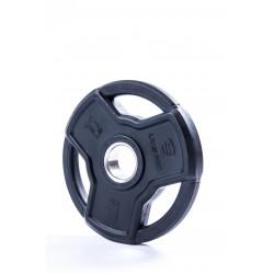 Livepro Wettkampf-Hantelscheibe gummiert 50mm