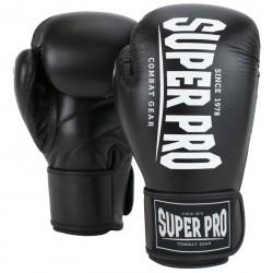 Super Pro Boxhandschuh Champ schwarz/weiß