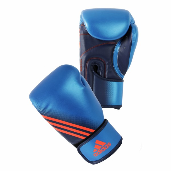 adidas Boxhandschuhe Speed 200, metallic-blue