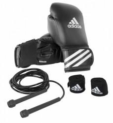 Adidas boksset - Bokshandschoenen, bandage en springtouw