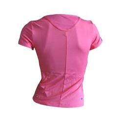 Adidas 3SA Tee pink Detailbild