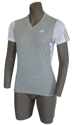 adidas Response Shortsleeved Tee Grey Heather