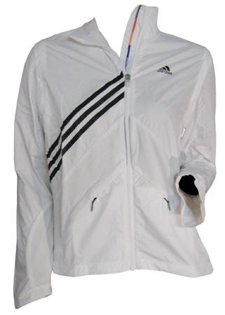 veste adidas femmes blanche