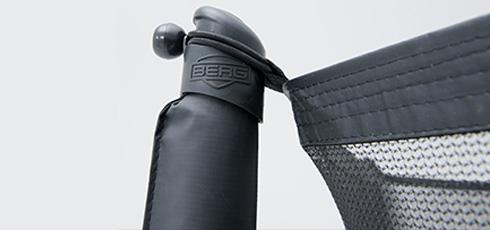 Figure: Veiligheidsnet Comfort voor optimale veiligheid tijdens het trampoline springen