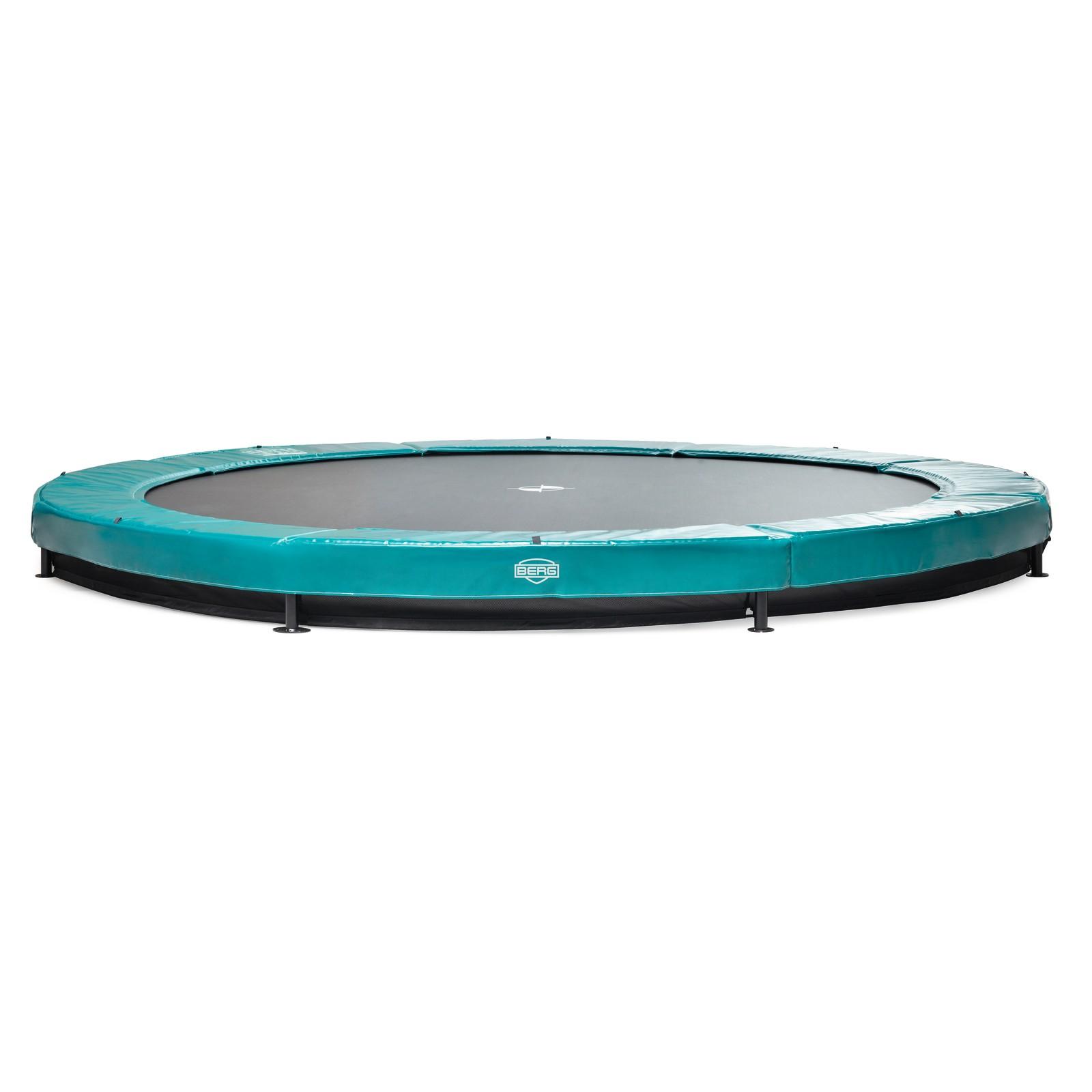 berg inground trampoline elite voordelig kopen. Black Bedroom Furniture Sets. Home Design Ideas
