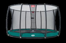 Berg trampolin Elite+ InGround inkl. sikkerhedsnet T-serie