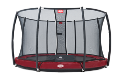 Trampoline BERG Elite+ InGround filet de sécurité T-Serie inclus