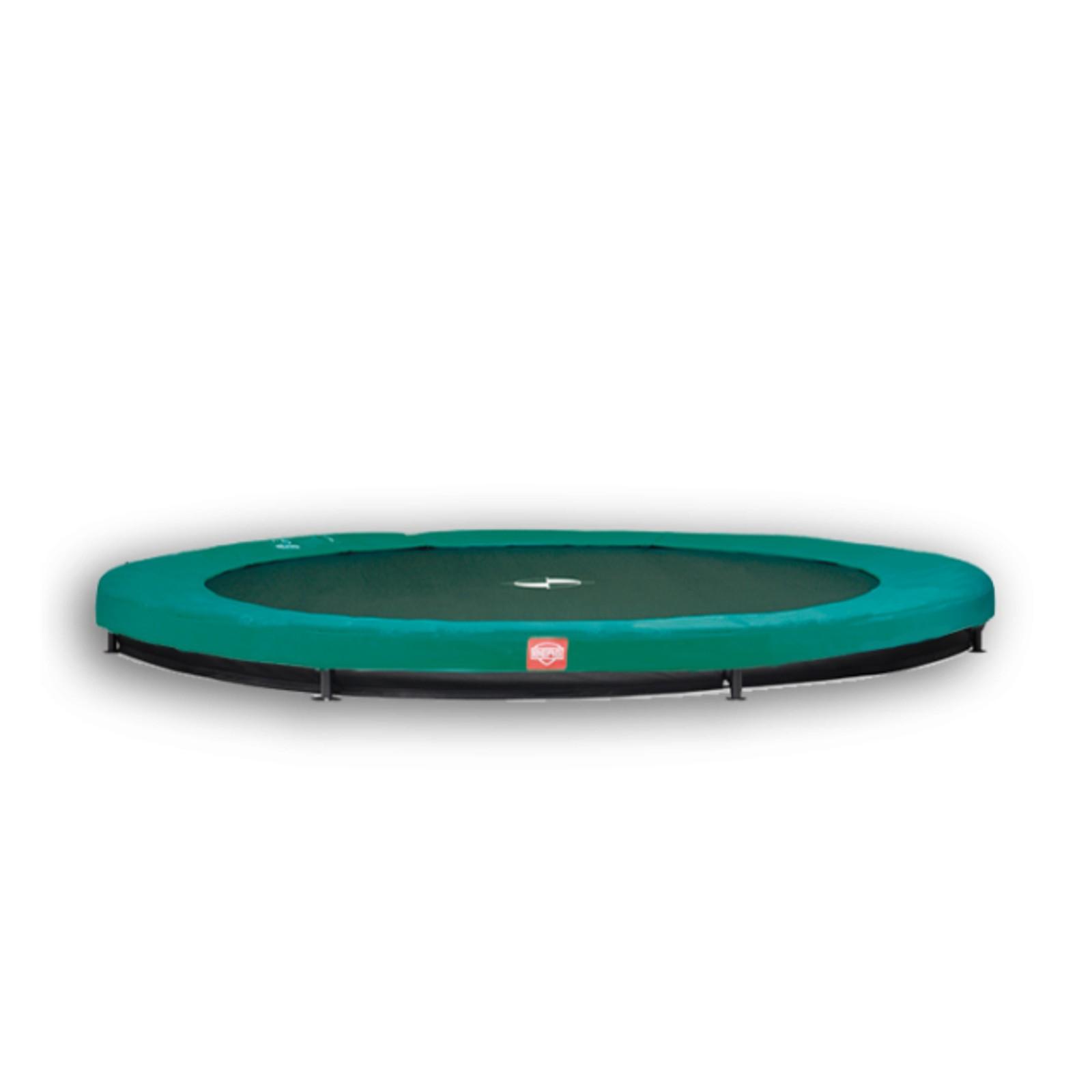 berg trampolin inground favorit 430 kopen met 29. Black Bedroom Furniture Sets. Home Design Ideas
