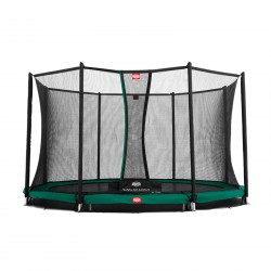 Berg trampolin InGround Favorit + sikkerhedsnet Comfort