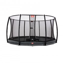 Berg InGround-trampoline Champion Grey 330 + veiligheidsnet Deluxe