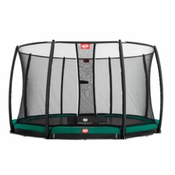 Trampoline BERG InGround Favorit filet de sécurité Deluxe inclus