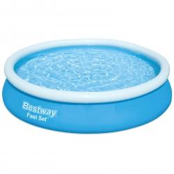 Bestway Fast Set Pool-Set mit Filterpumpe, rund, 366x76cm