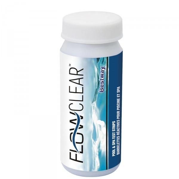 Bandelettes test BestWay Flowclear 3-en-1