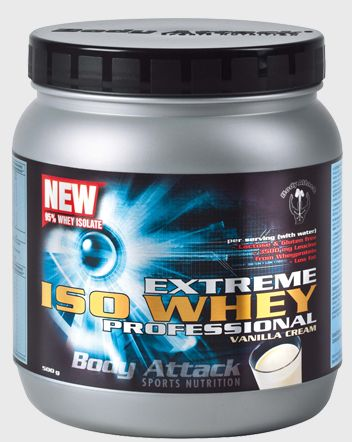 Body Attack Extreme ISO Whey Professional