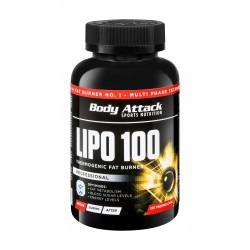Body Attack Lipo 100 Thermogenic Fat Burner