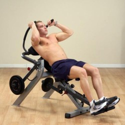 Body-Solid GAB300 Semi-Recumbent Ab Bench
