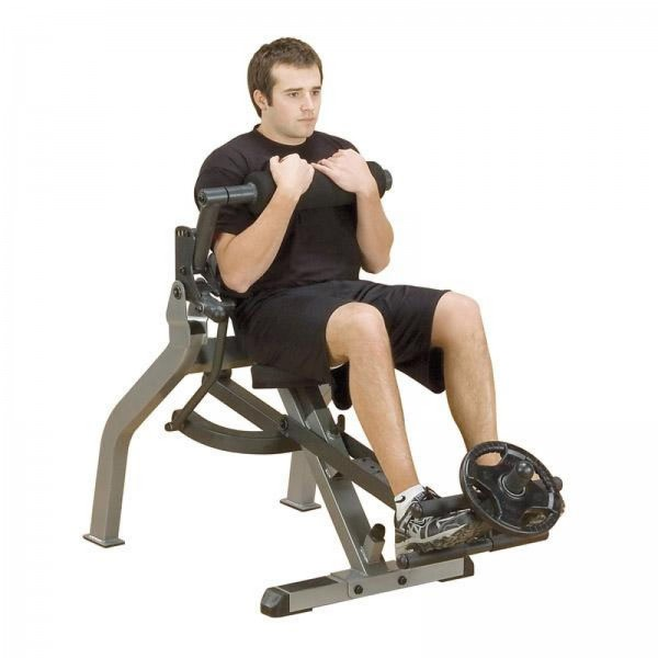 Body-Solid GAB350 Semi-Recumbant Dual Ab Bench