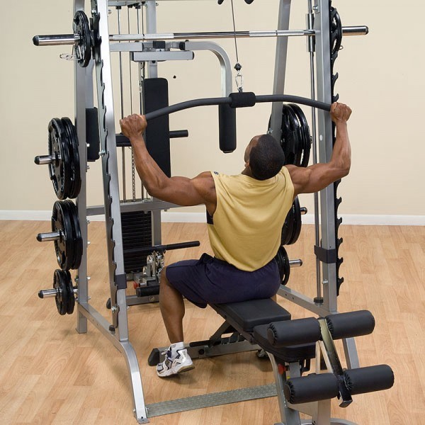 Body-Solid GLA348QS Lat Attachment voor Series 7 Smith Machine