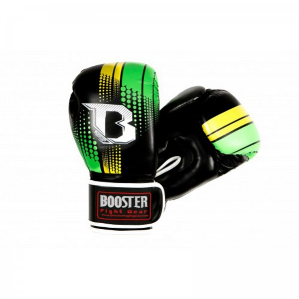 Booster BT Sparring Gloves, green/yellow