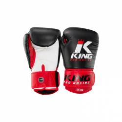 Booster King PRO BOXING - Boxhandschoenen rood