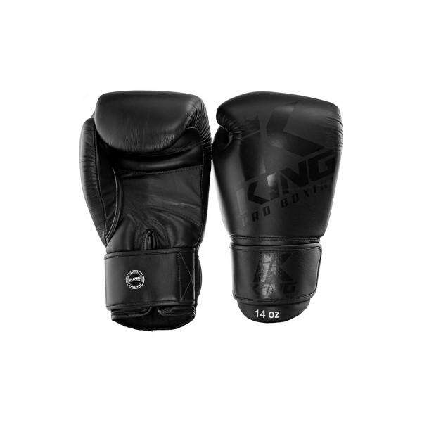 Booster King Pro Boxing Bokshandschoenen zwart | Muay Thai, Kickboksen