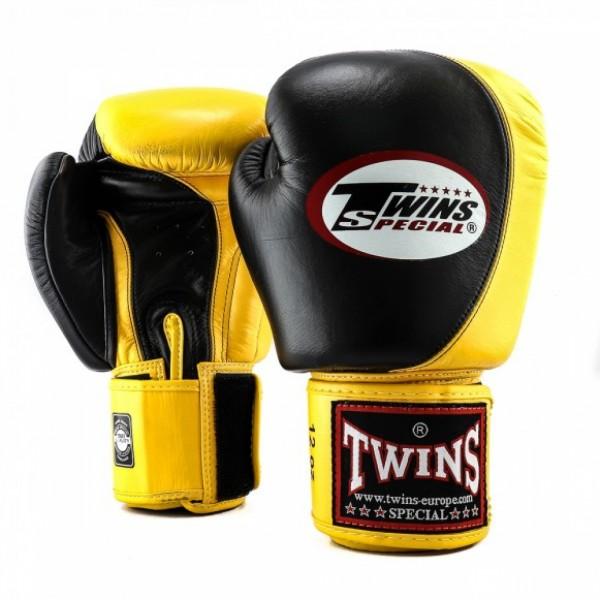 Booster Twins Bokshandschoenen BGVL-9 Zwart/geel