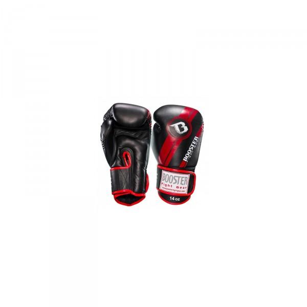 Booster Bokshandschoenen zwart-rood | Sparring/wedstrijden