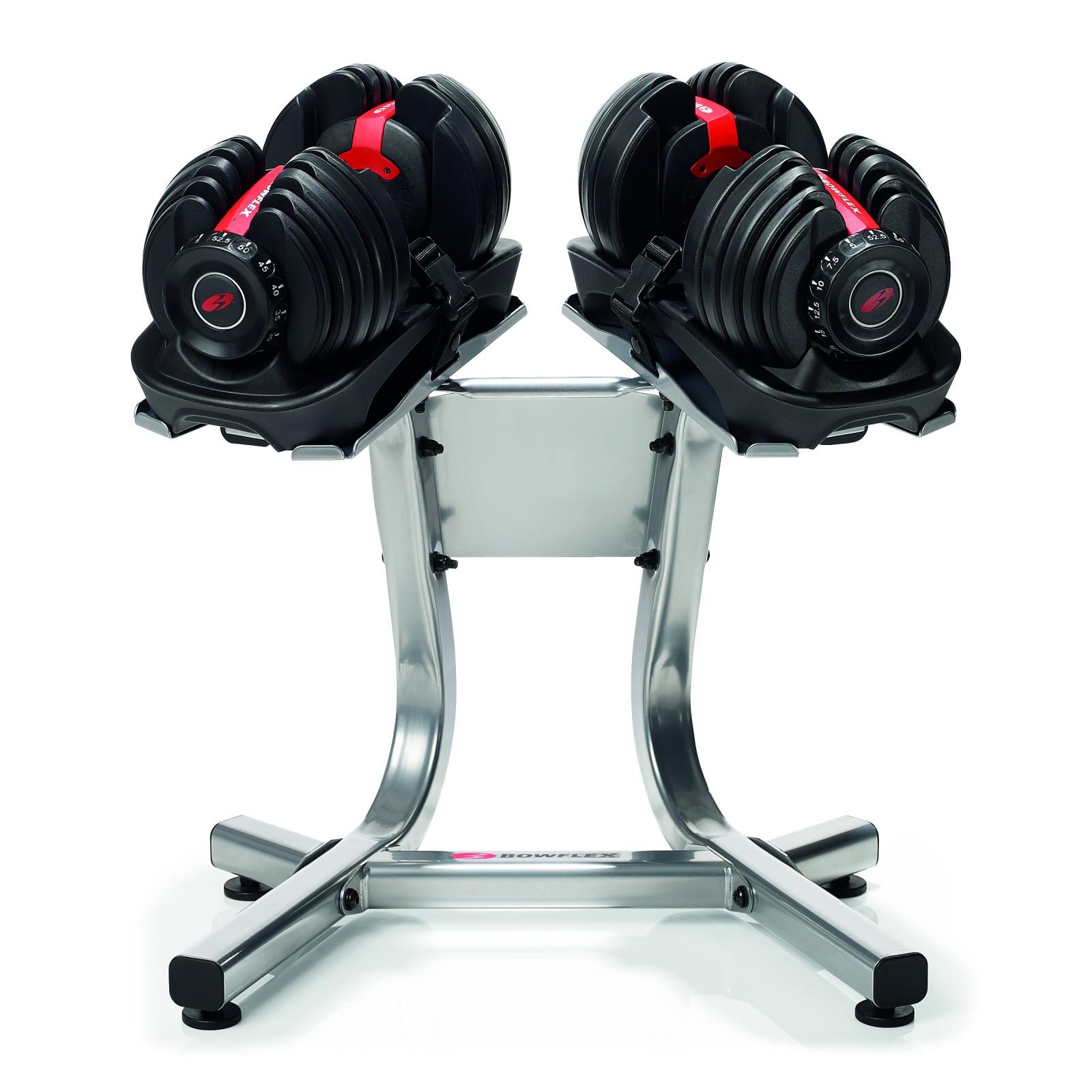 Bowflex Adjustable Dumbbells Instructions: Bowflex SelectTech BF 1090Dumbbell Set + Dumbbell Stand