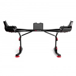 Support Bowflex SelectTech 2080 avec Media Rack