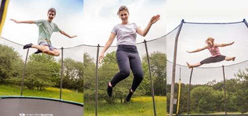 Figure: En trampolin for hele familien